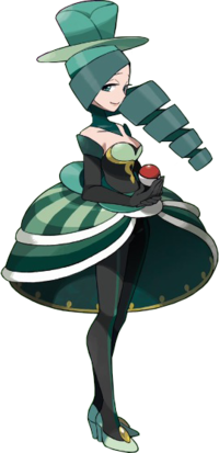 Morgan, die Kampf-Châtelaine des Reihumkampfes