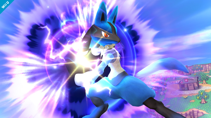 super smash bros wii u lucario