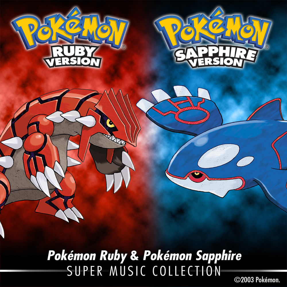 Soundtrack zu Pokémon Rubin/Saphir