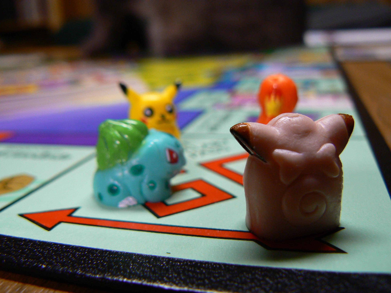 Ein Bild des früheren Pokémon-Monopolys
