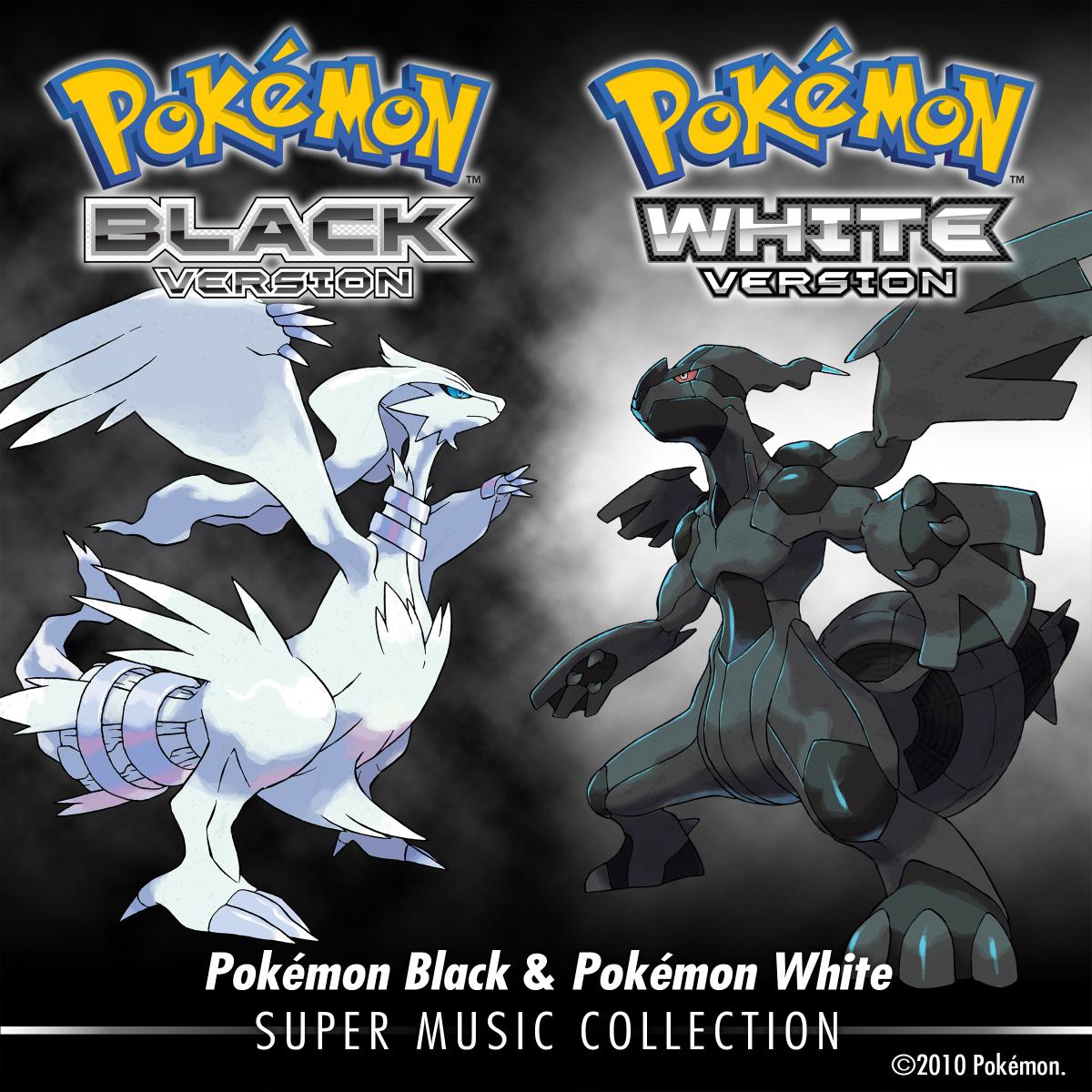 Cover der Pokémon Black & Pokémon White: Super Music Collection