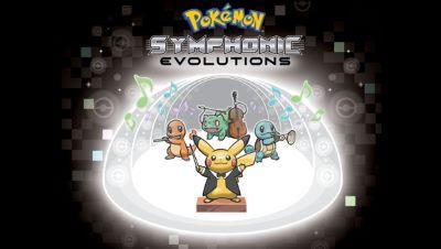 Logo der Konzerttour Pokémon: Symphonic Evolutions