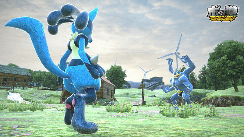 Pokkén Tournament Screenshot 1