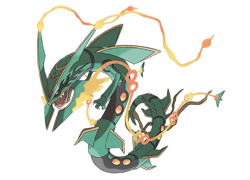 Screenshot von Mega-Rayquaza