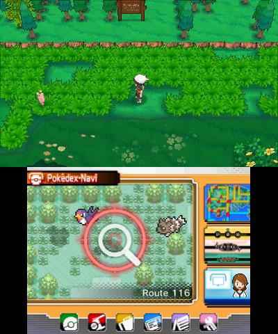Versteckte Pokémon finden