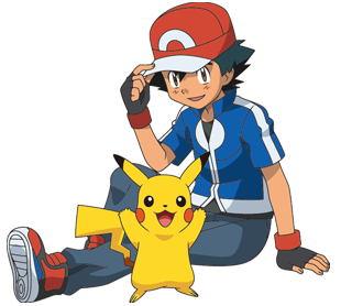 Ash und Pikachu