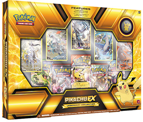 Pikachu-EX Legendary Collection Box