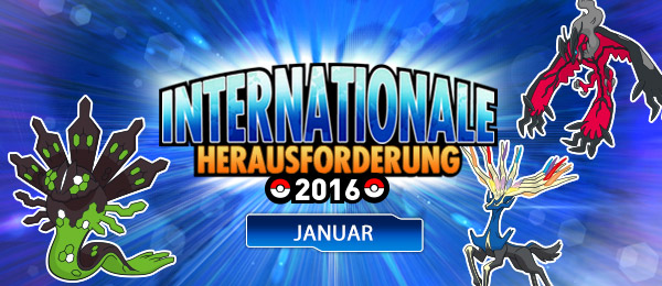 Internationale Herausforderung