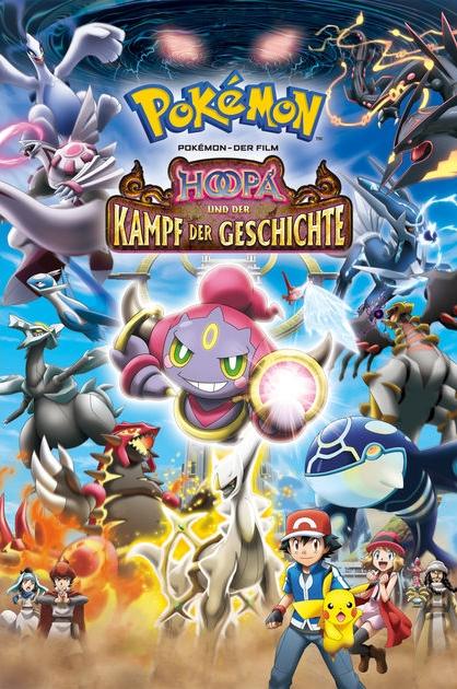 Hoopa Und Der Kampf Geschichte Auf Nickelodeon Zweite Anime Staffel DVD