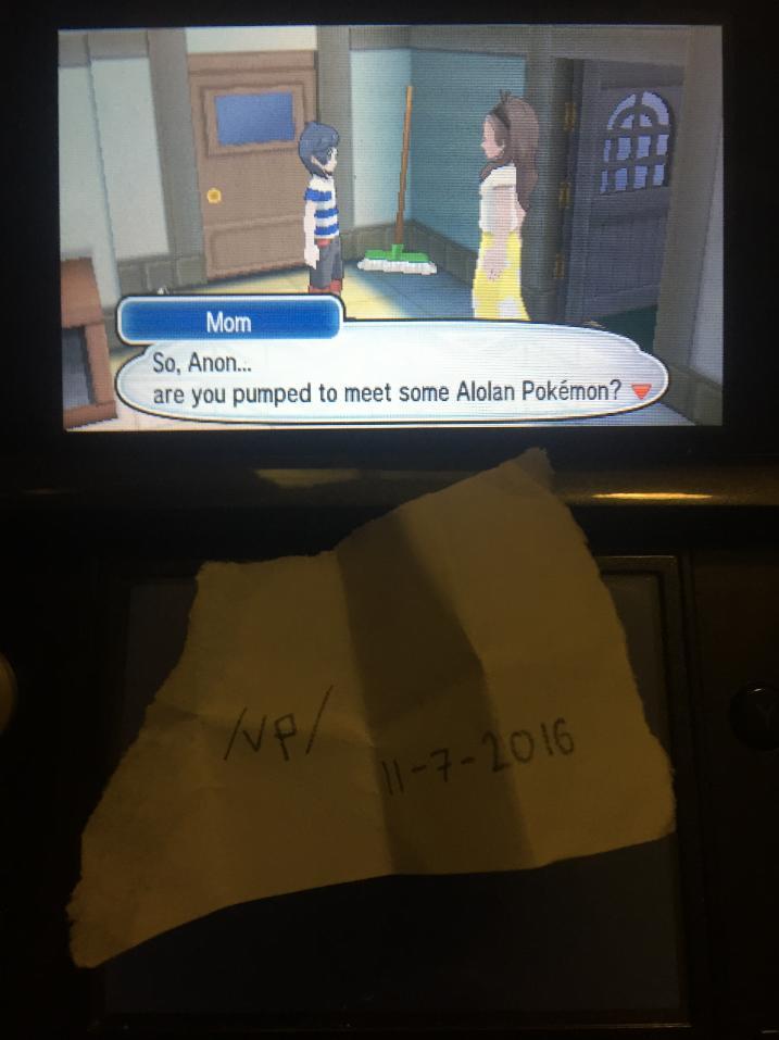 Screenshot aus Pokémon Sonne und Mond