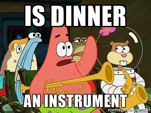 Is Dinner an instrument?